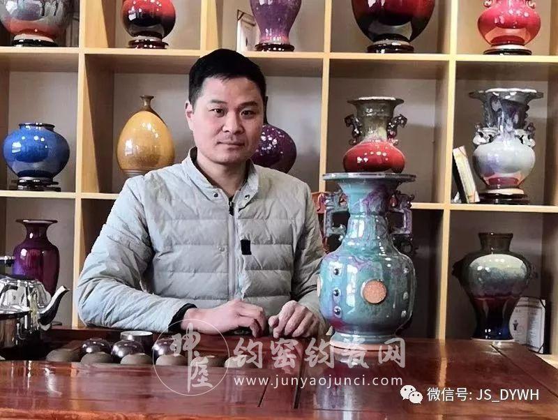 刘建功:强力铸就钧瓷文化市场航母