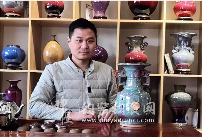 金泥巴钧瓷坊刘建功:强力铸就钧瓷文化市场航母