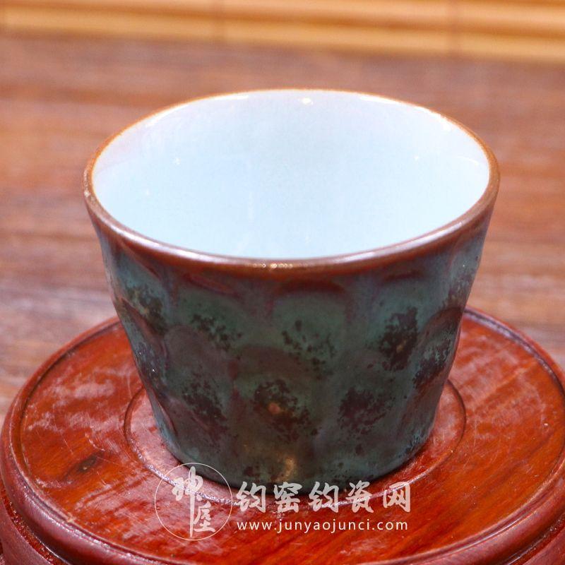 名家钧窑茶壶