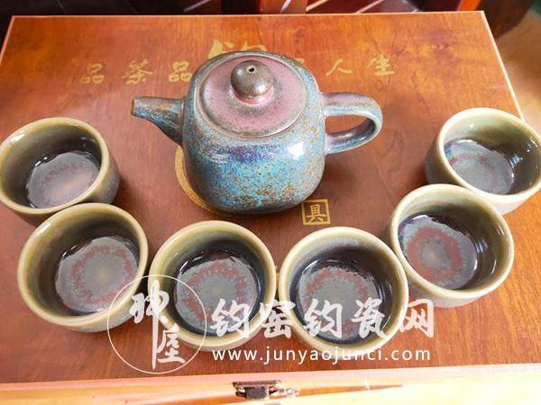 钧瓷茶具如何使用?价格多少?