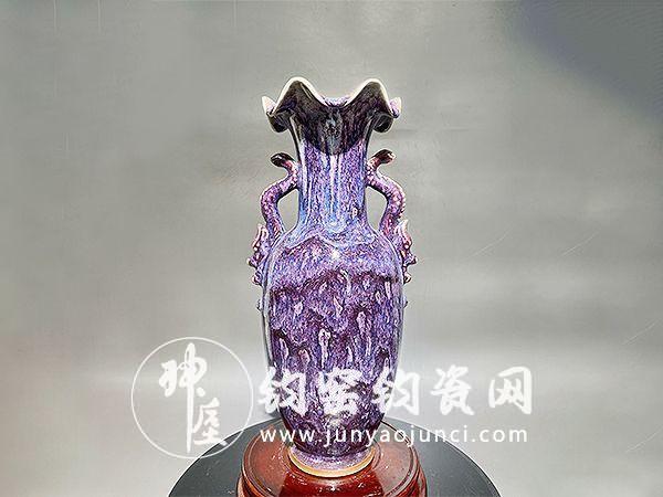 """钧瓷被称为""""中国宝瓷"""",是难得的艺术珍品。"""