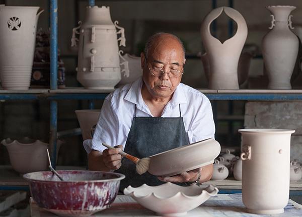 刘国安:钧瓷恢复发展的参与者