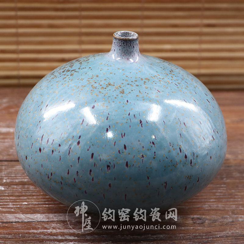 手拉坯豆豆瓶